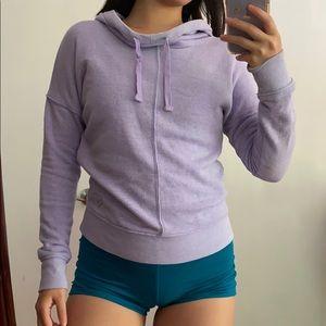 Cozy purple sweatshirt
